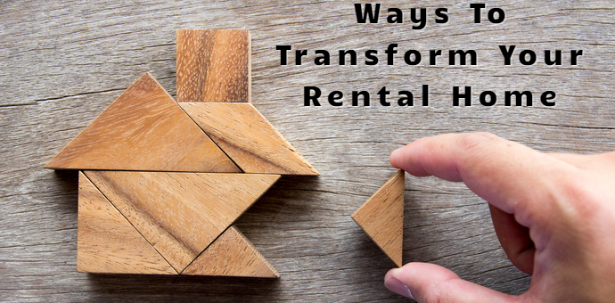 rental home tranformation