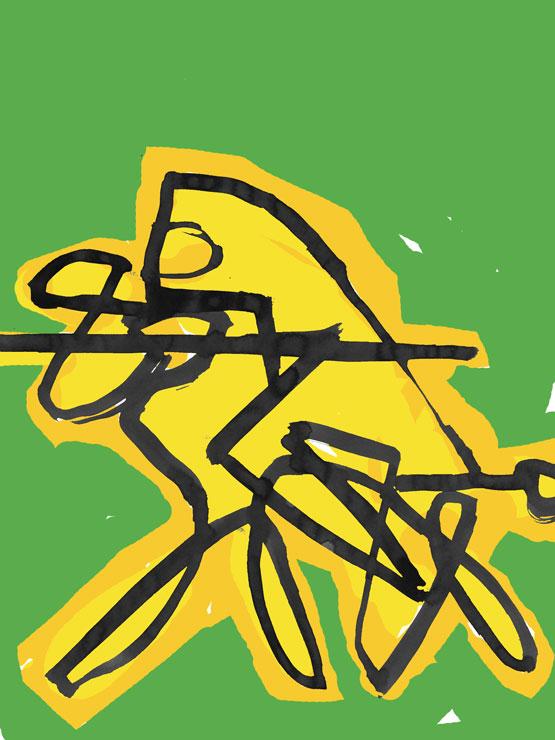 Der gelbe Ritter