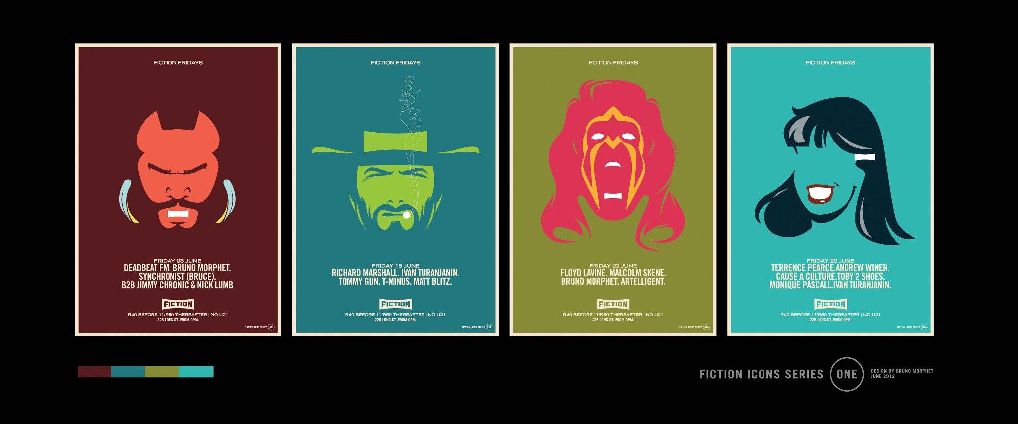 Serie De Afiches Me Atrajo La Sintesis Del Lenguaje Mas