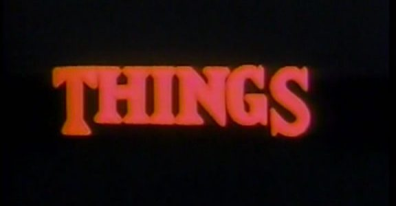 EPISODE 66: THINGS (1989)