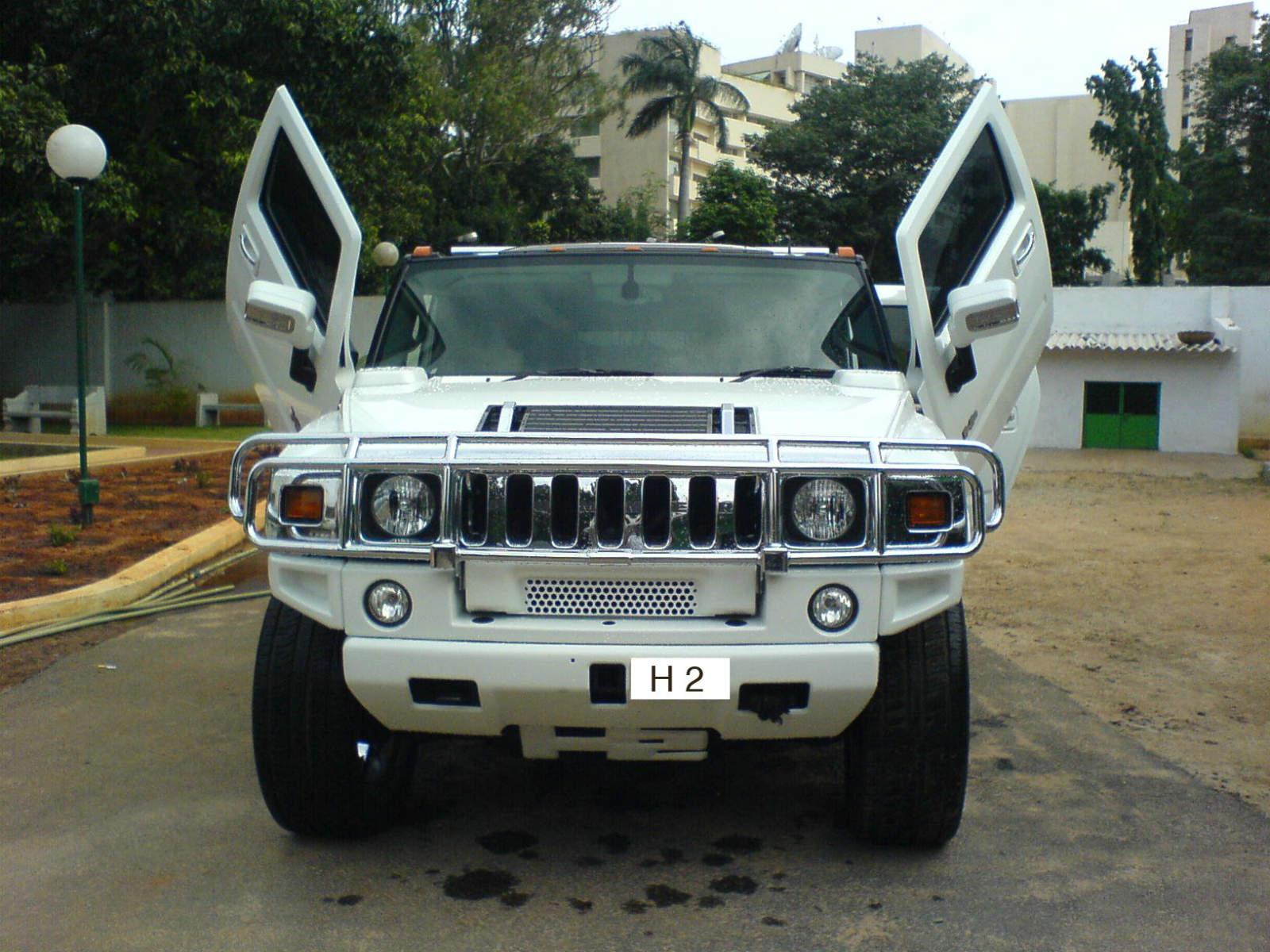 White Siccor Doors Hummer Front View NO Car NO Fun Muscle Cars