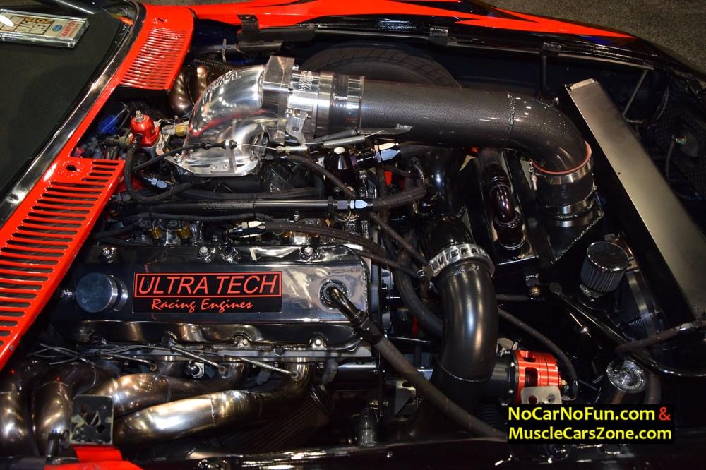 medium resolution of 1973 amc javelin ultra tech racing engines 221b drag car 2015 sema motor show 10