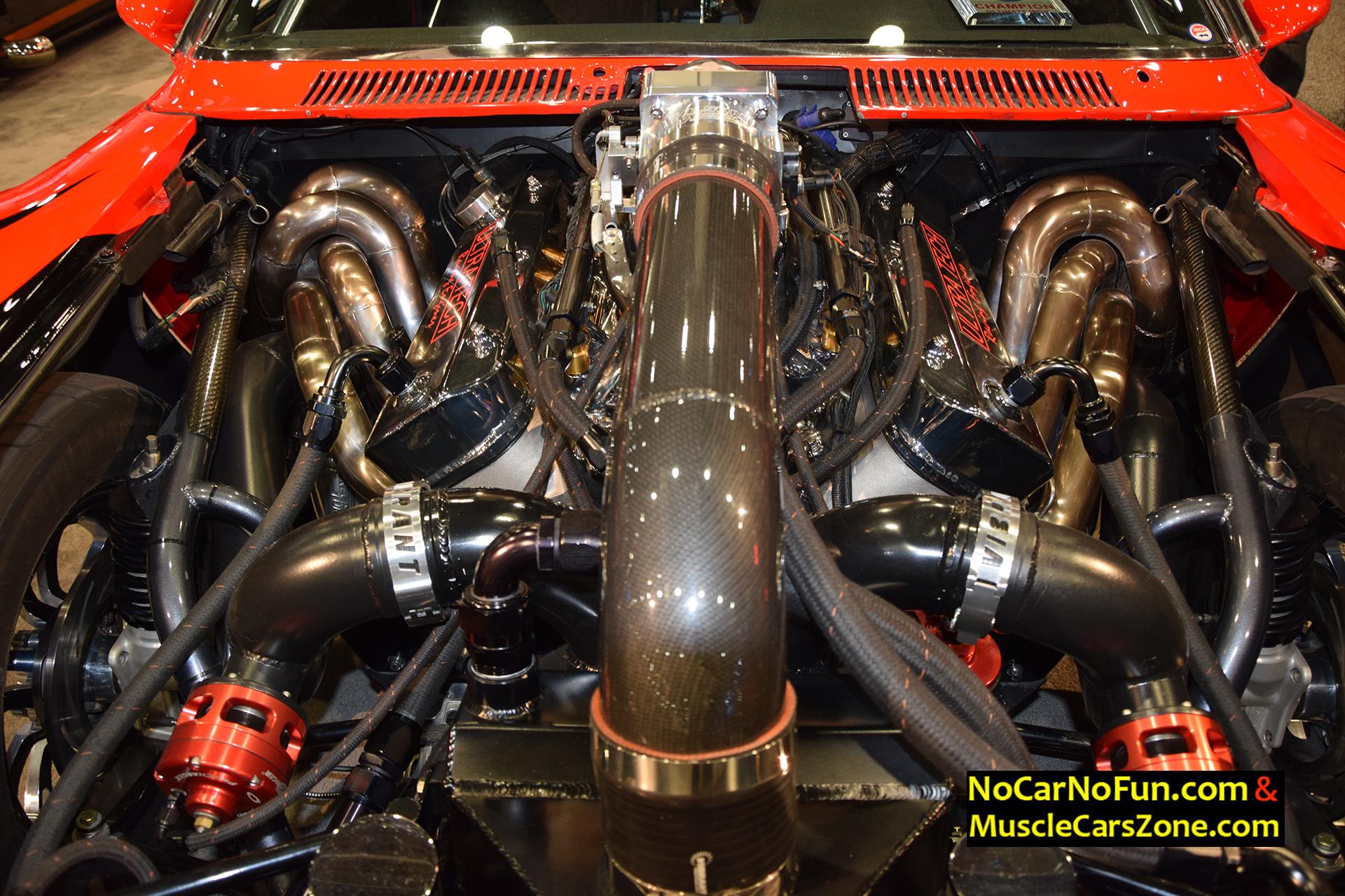 hight resolution of 1973 amc javelin ultra tech racing engines 221b drag car 2015 sema motor show 9