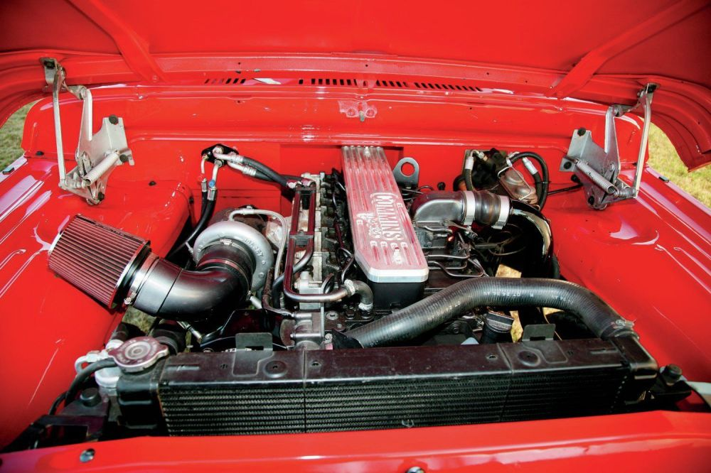 medium resolution of 1970 dodge crew cab cummins swap power wagon engine