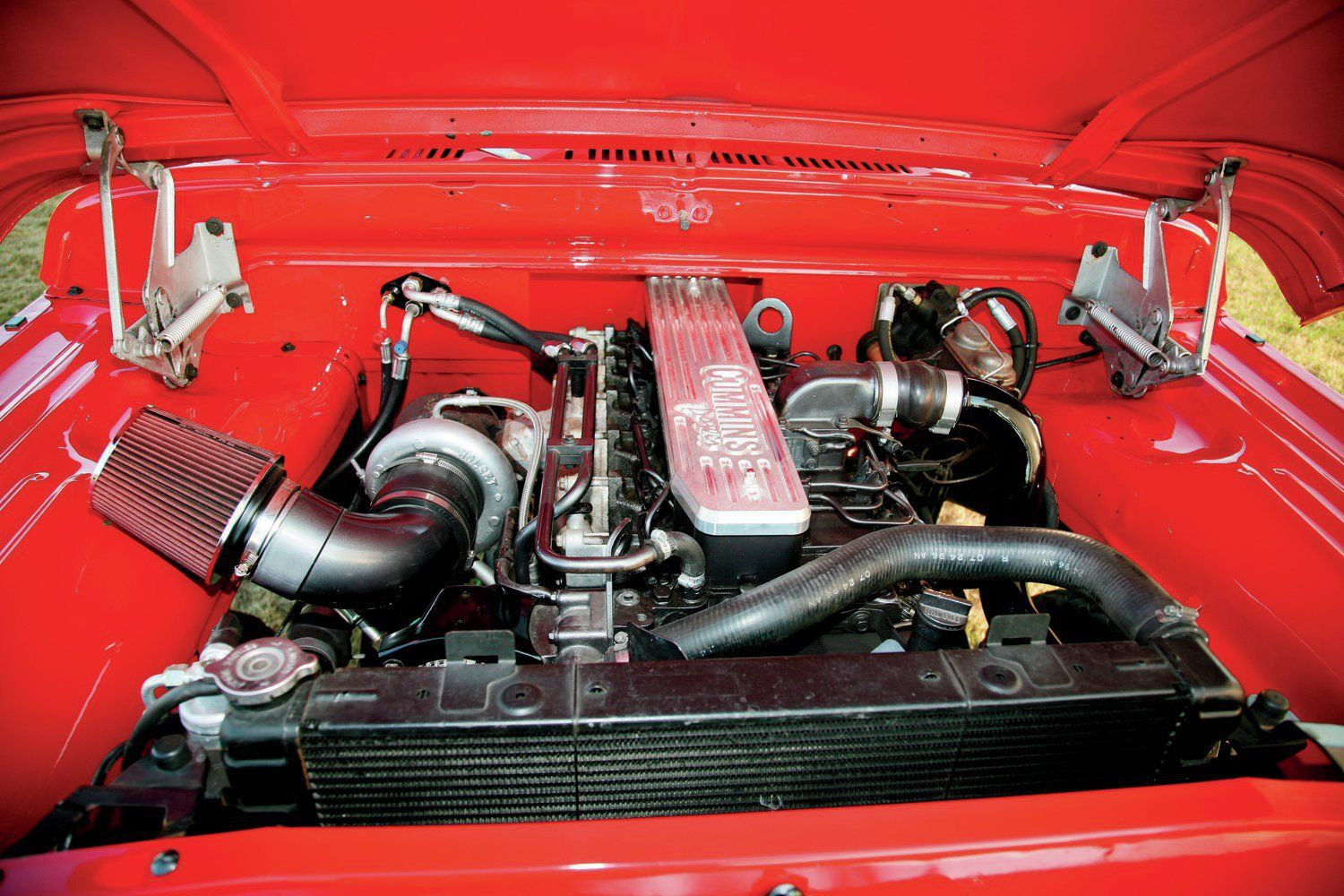 hight resolution of 1970 dodge crew cab cummins swap power wagon engine
