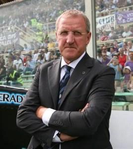 Luigi Del Neri, allenatore della Nocerina dal 1994 al 1996