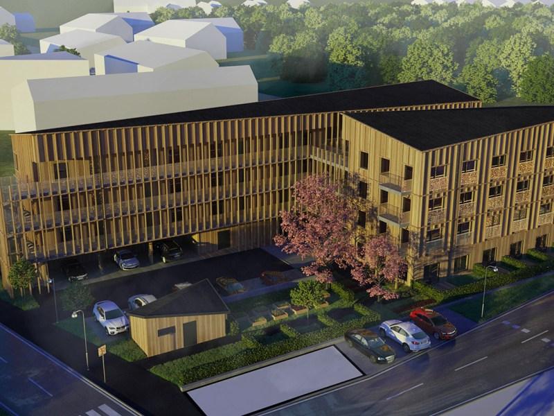 Nock Massiva Trähus skapar gröna hem i Norrköping
