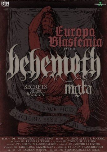 Behemoth-Mgla-Secrets of the Moon Tour Oct 2016