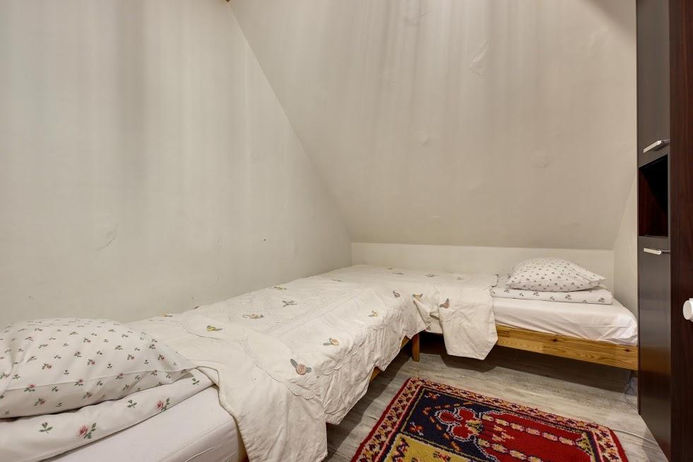 Sypialnia 2 w apartamencie Z Merlin Monroe.