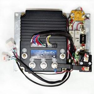 CURTIS Programmable DC SepEx Motor Controller Assemblage, Model: 12685403, 36V  48V  400A