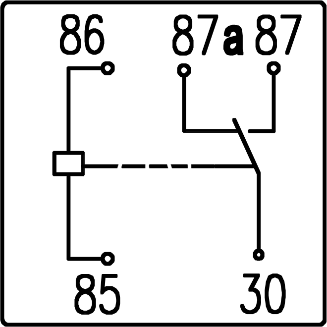 24v relay wiring diagram 5 pin problem solving using venn 80a bosch type automotive dc model jd2912 spdt single 12v and