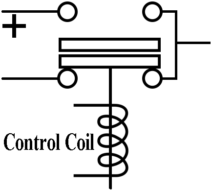 SPDT QCC25C-400A/11 DC Contactor, With Long Contact, 12V