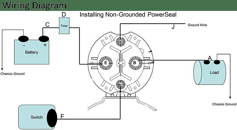 contactor wiring diagram 2003 jetta tail light dc all data noco shop 100a model trombetta 12v 24v 36v control terminal