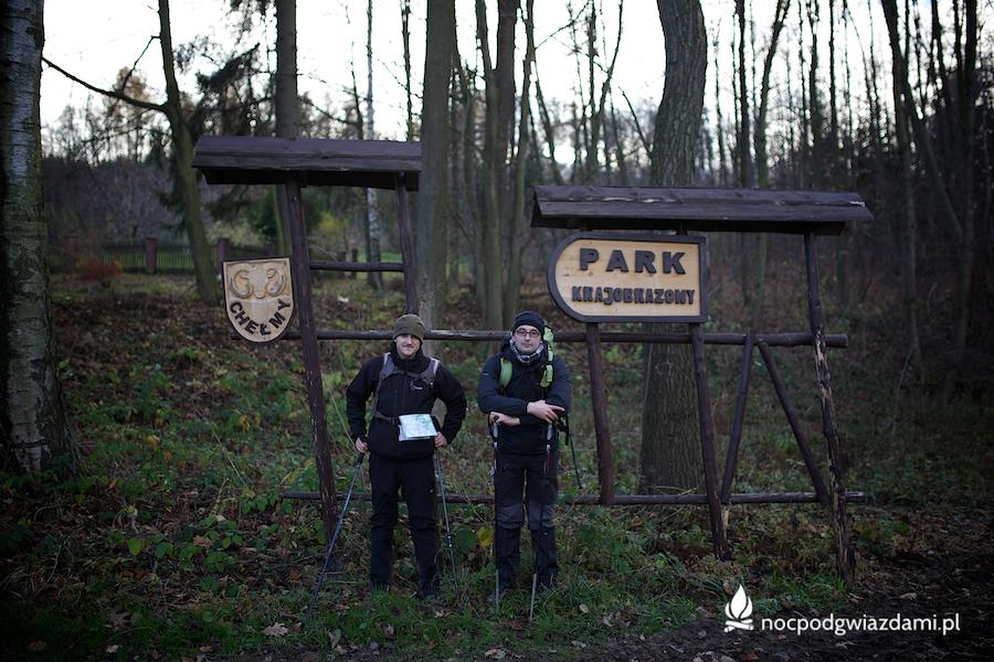 Granice parku Chełmy
