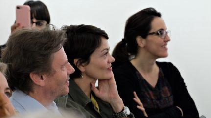 Trym Eidem Gundersen (direttore Norwegian Seafood Council), Elisabeth Ones (Innovation Norway) e Marika Gherardi (Fujifilm)