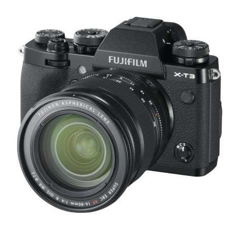 X-T3_Black_LeftObl+XF16-88mm-r40