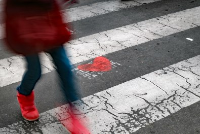 © Roberta Priori. Foto fatte con i piedi.