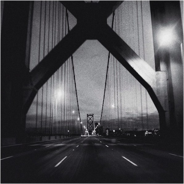 © John McDermott. San Francisco. Oakland Bay Bridge. Panasonic Lumix LX100