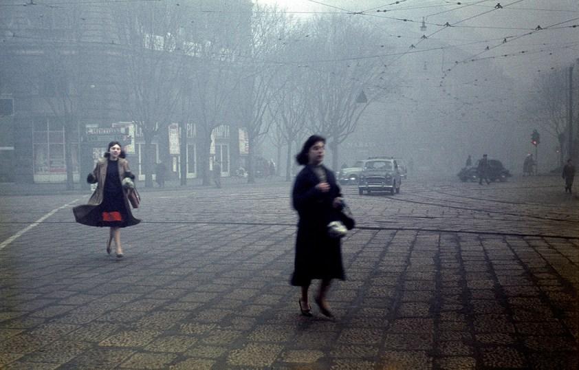 1957. Milano, Largo Cairoli