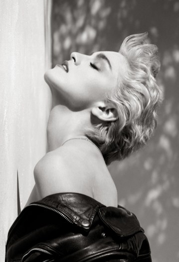 © Herb Ritts Foundation. Madonna (True Blue Profile), Hollywood 1986