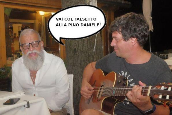 Renato Greco e Oreste Messina