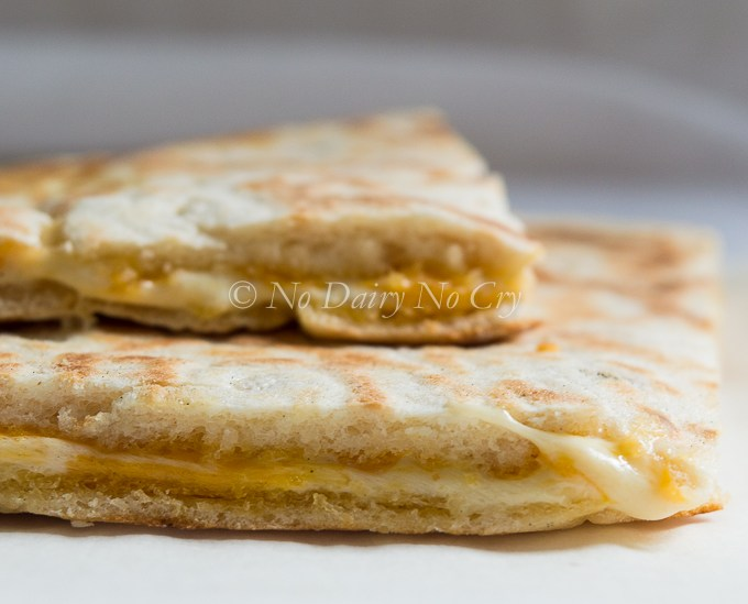 Perfect Dairy Free Grilled Cheese Sandwiches