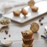 Super Healthy Almond Mini Muffins