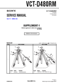 SONY VCT-D480RM Service Manual — download free