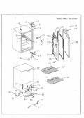 Sanyo SR-2410K Parts list — download free