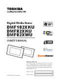 Toshiba DMF82XWU user manuals download