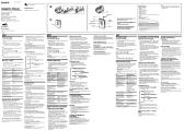SONY WM-EX521 user manuals download