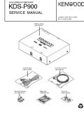 Kenwood KDS-P900 Service Manual — download free