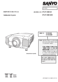 Sanyo PLVHD10 Service Manual — download free