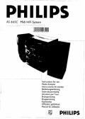 Philips AS665C/22 user manuals download