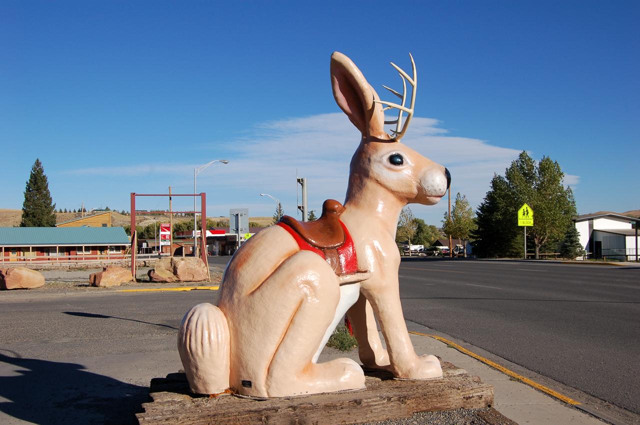 Jackalope #1 in Dubois, Wyoming