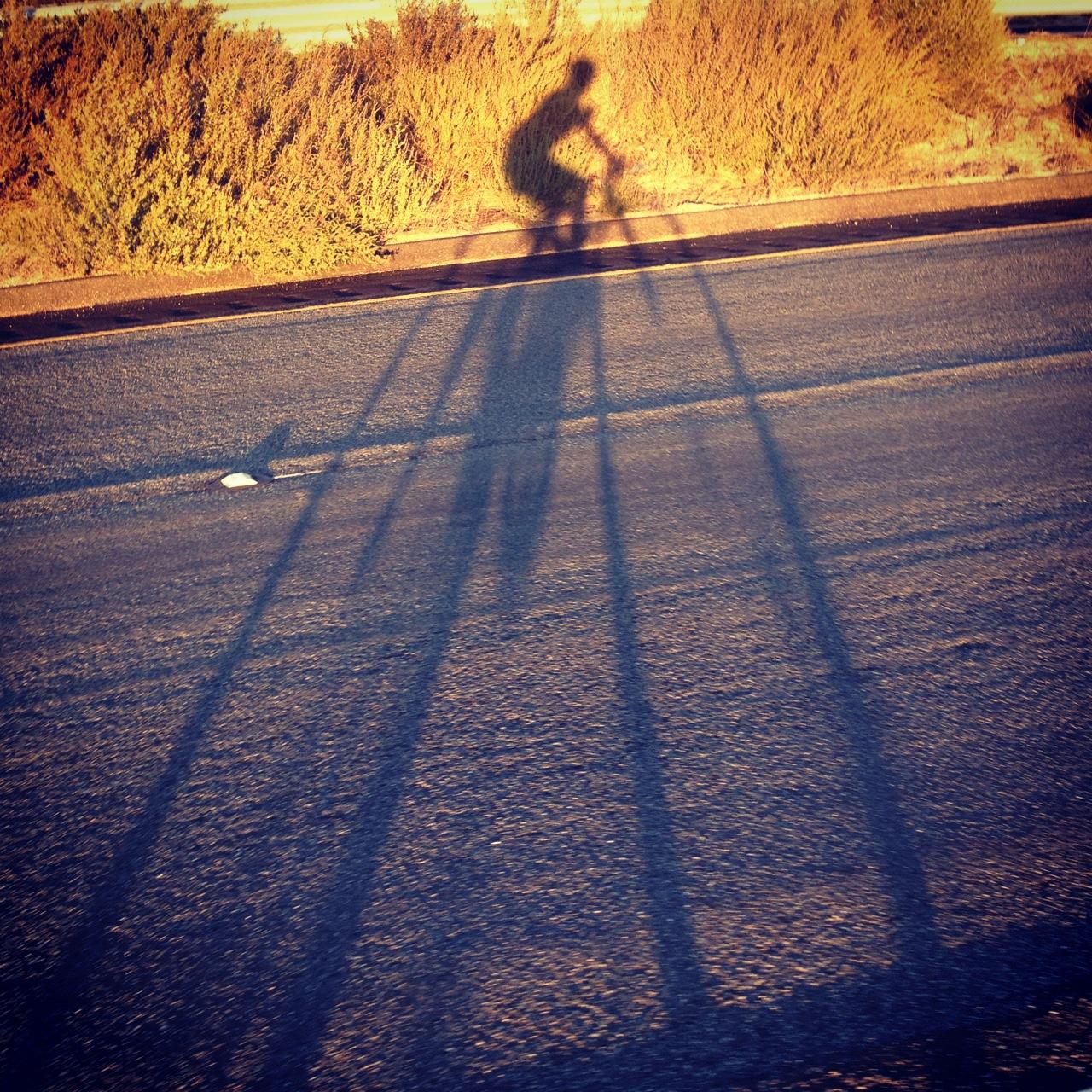 Golden hour climbing