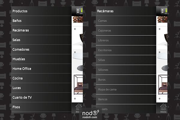 iDecore (Secciones)