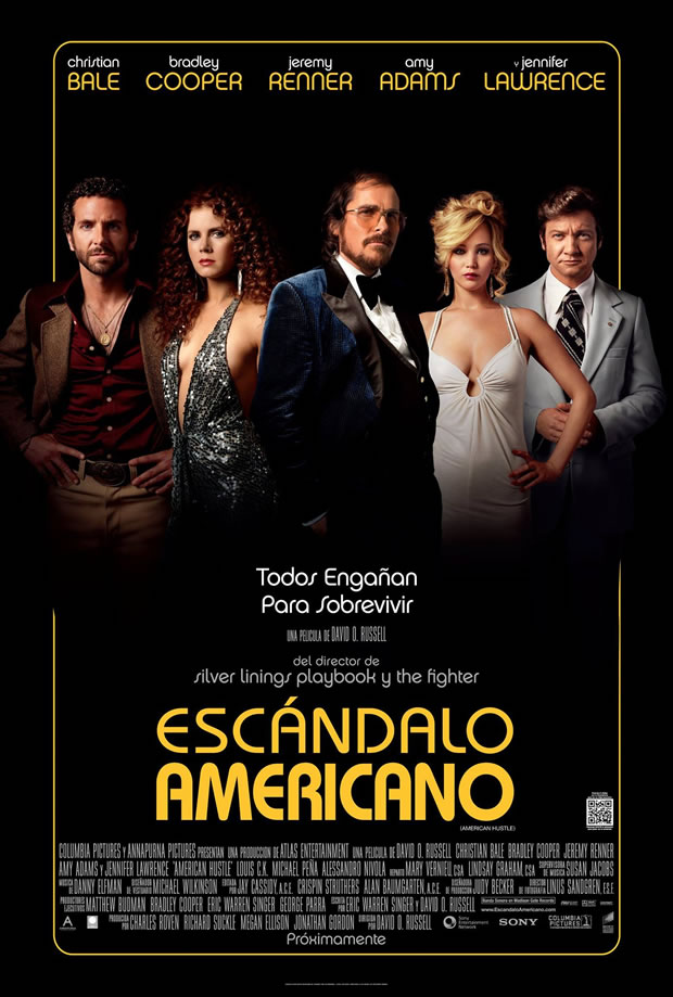 escandalo americano poster