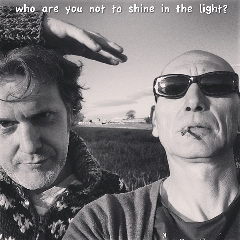 Who Are You Not To Shine Oin The Light - Noego