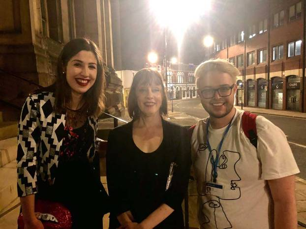 With Suzanne Vega & Gage Leeds Town Hall 21/08/18