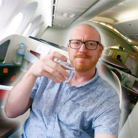 Flying the TEQUILA EXPRESS! AeroMexico 787 Business Class