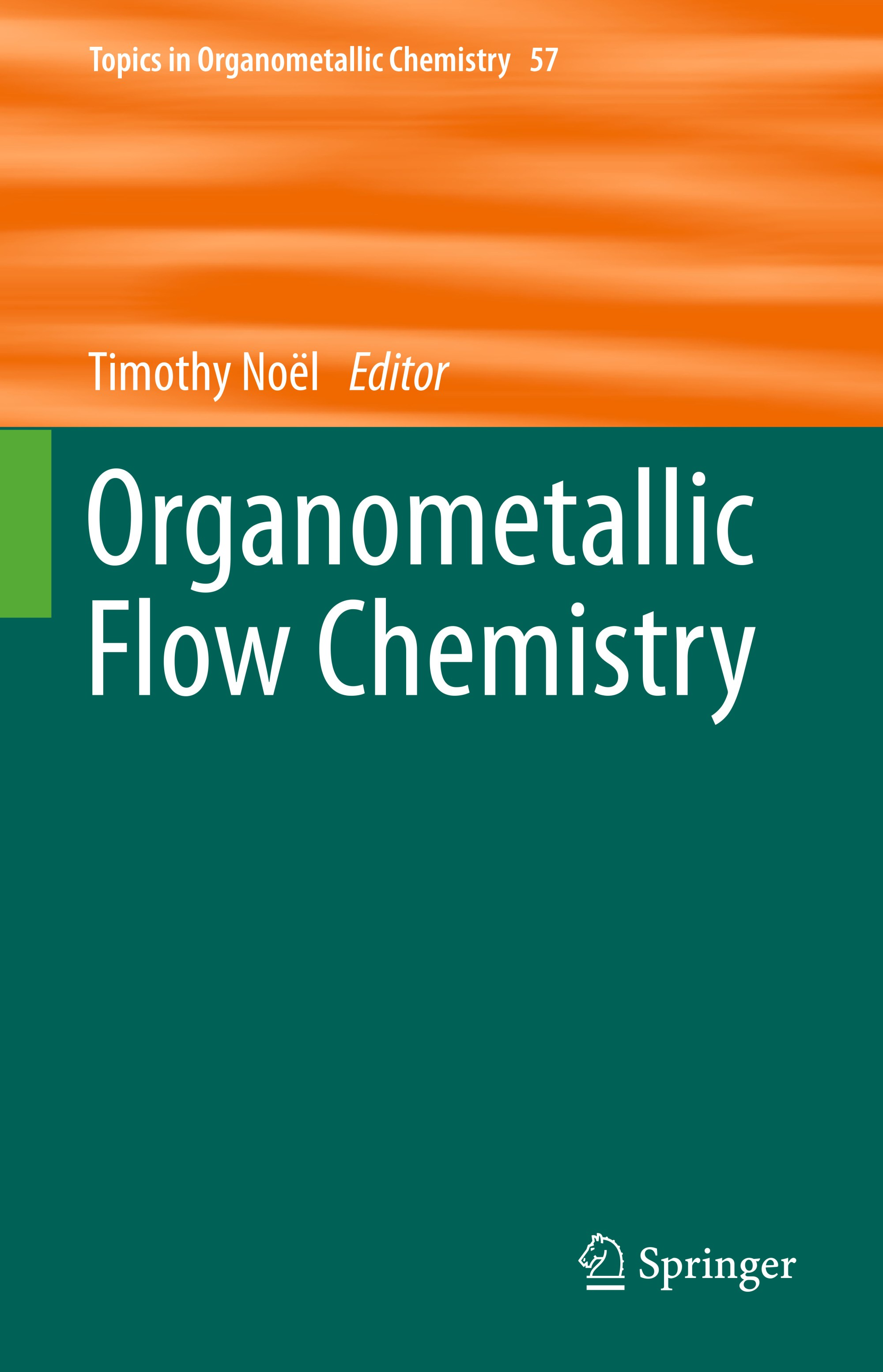 hight resolution of organometallic flow chemistry cover