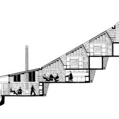Architecture Section Diagram Lan Wiring Architectural Drawings By Jo Noero Architects House Harveytile
