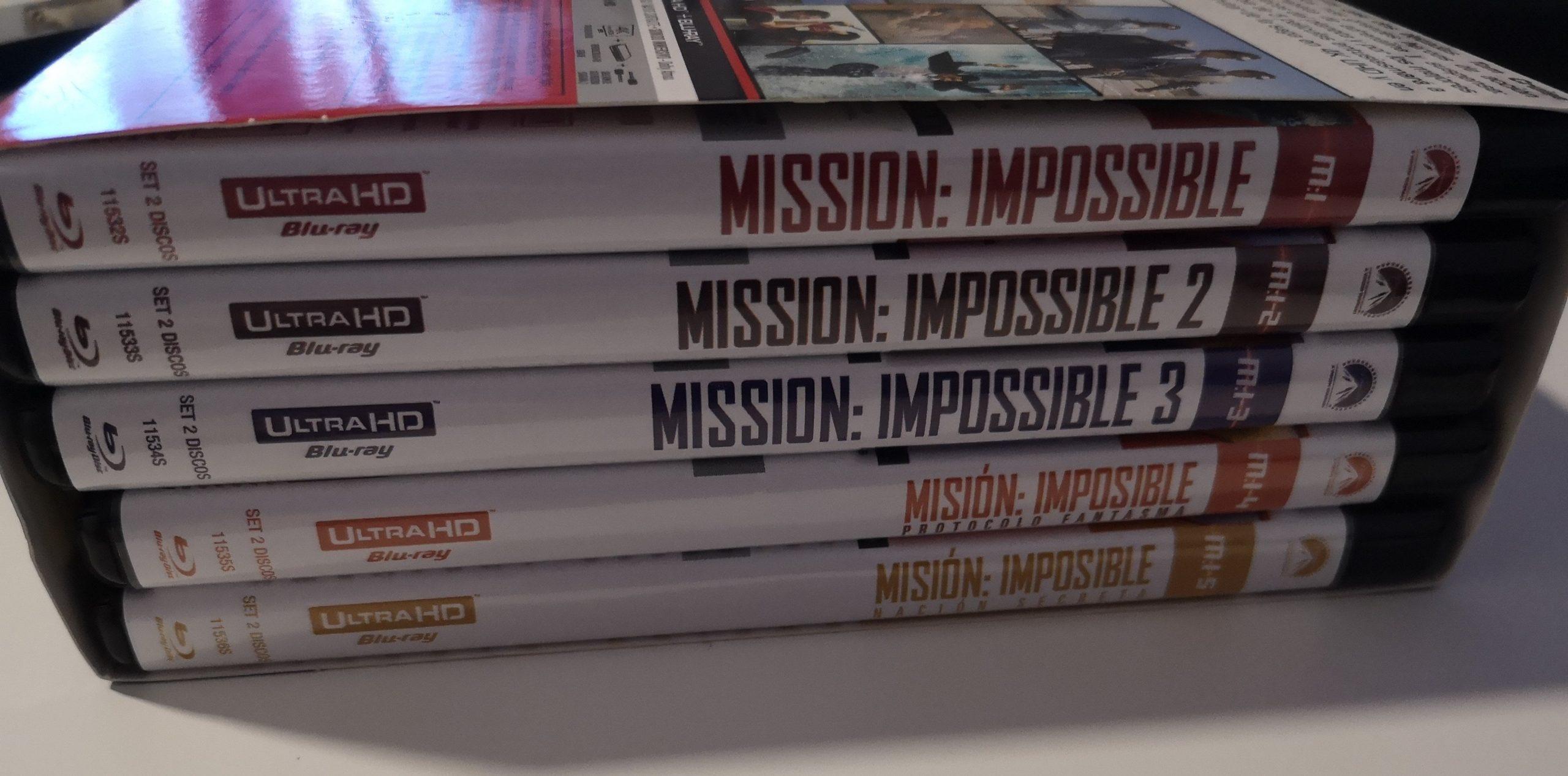 Misión Imposible colección 5 películas lateral