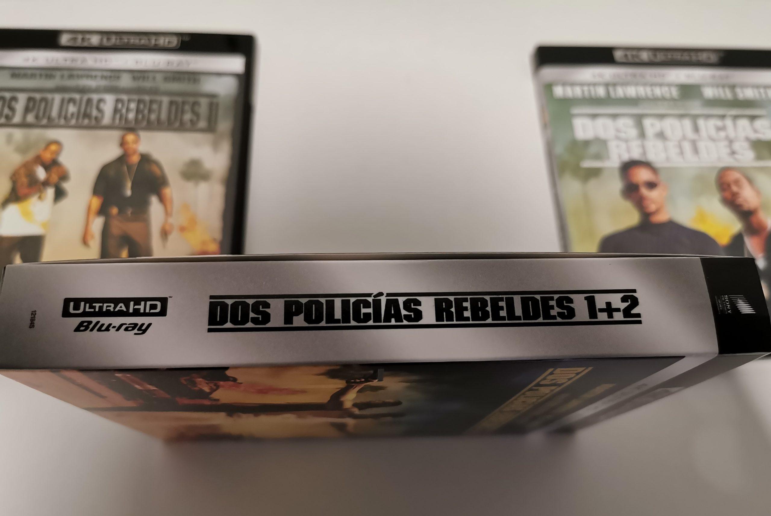 Dos policías rebeldes edición 4K caja 02