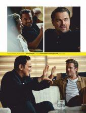 Brad Pitt, Leonardo DiCaprio & Quentin Tarantino - Esquire 02