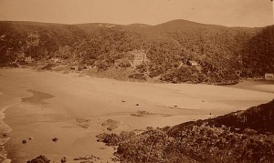 Noetzie beach view 1930s