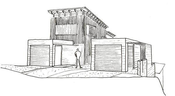 Sunshine Beach Duplex Concept 1