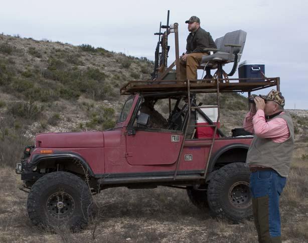 Yj Wrangler Hunting Rack