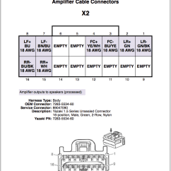 Bose Amp Wiring Diagram 2001 Nissan Frontier Alternator Amplifier Connector Details Chevy Ss Forum Report This Image